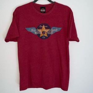 Harley-Davidson men's red t-shirt